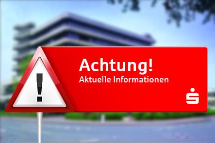 Warnstreik - Arbeitskampf bei der Sparkasse Bielefeld