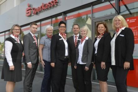 Sparkasse Bielefeld - Team der Filiale Wellensiek