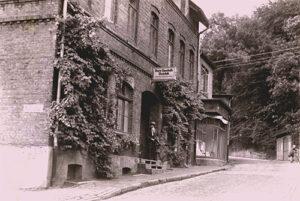 """Am Kantensiek eröffnete die Kreis-Sparkasse am 30. April 1936 ihre Zweigstelle """"Gadderbaum/Bethel""""."""