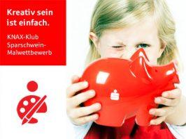 KNAX-Klub-Sparschwein-Malwettbewerb