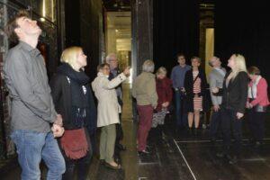 Blick hinter die Kulissen im Stadttheater