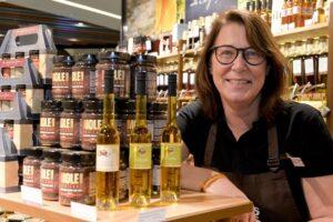 Susanne Rieskamp ist Gründerin des Wajos-Feinkostladen im LOOM.