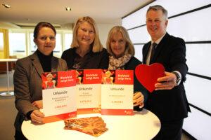 Bielefeld zeigt Herz - wir spenden 9.270 Euro für Kinder in Bielefeld