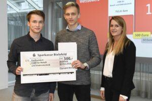 Planspiel Börse 2018 - Team Arminia Bierbestellt vom Carl-Severing-Berufskolleg