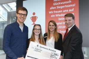 Planspiel Börse 2018 - Team LucaInvest der Universität Bielefeld