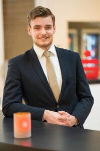 Bankkaufmann bei der Sparkasse Bielefeld - Florian Schürmann