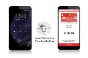 Mobiles Bezahlen mit der App der Sparkasse Bielefeld