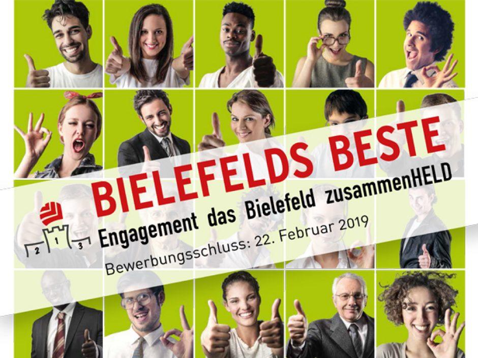 Der 10. Bielefeld-Preis: Engagement für Bielefeld