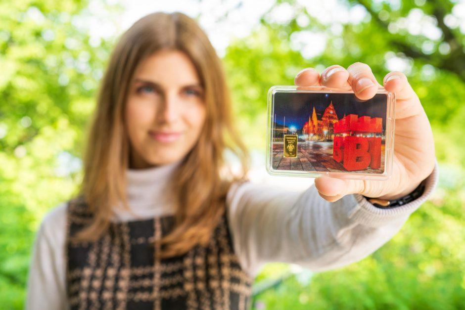 Leinewebermarkt 2019: Gold gewinnen bei der Sparkasse