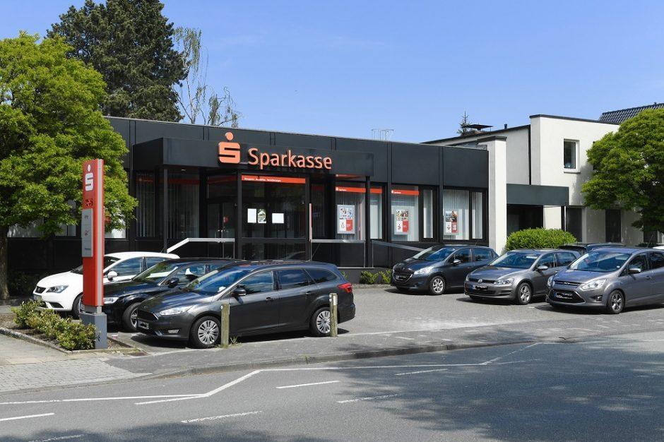Sparkasse schließt vorübergehend ihr Beratungszentrum Senne-Buschkampstraße