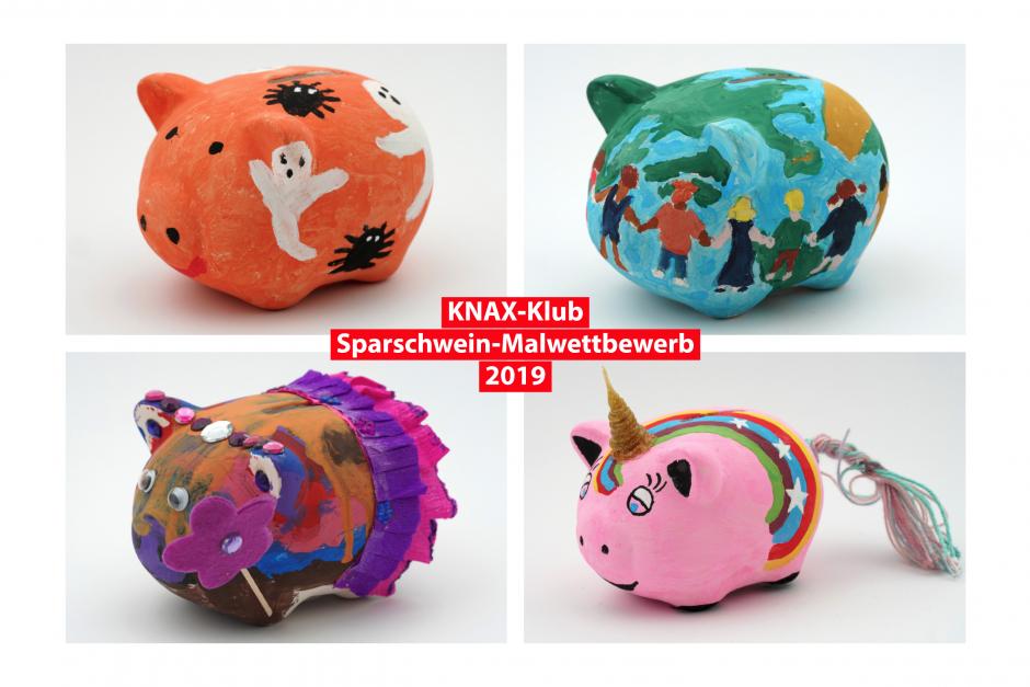 Sparschwein-Malwettbewerb 2019: Die Gewinner stehen fest!