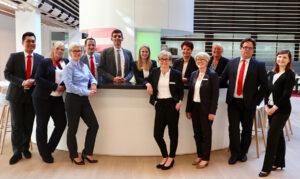 Mitarbeiter des BusinessCenters der Sparkasse Bielefeld