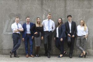 Team des SmartCenters der Sparkasse Bielefeld