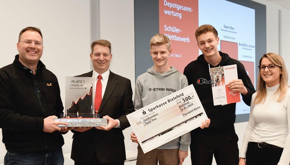 Planspiel Börse 2019: Team der Marienschule der Ursulinen sichert sich erstmals den Sieger-Pokal