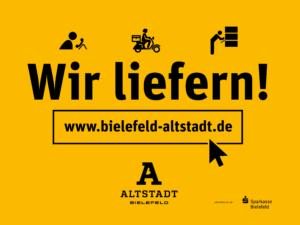 Unterstützen Sie Bielefeld - Wir liefern! Bielefelder Altstadt