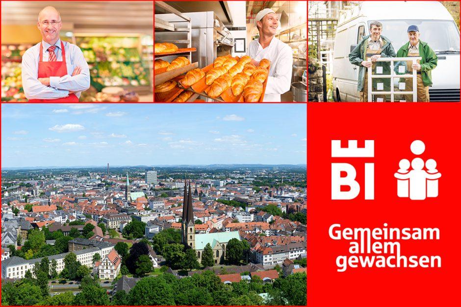 Unterstützen Sie unsere Bielefelder Einzelhändler, Handwerker und Dienstleister