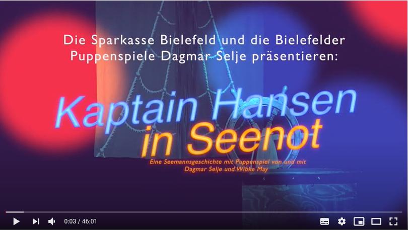 Puppentheater - Kaptain Hansen in Seenot