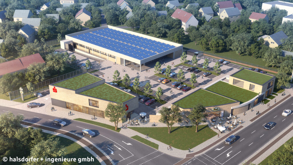 Sparkasse Bielefeld: Neue Filiale in Senne eröffnet im Spätsommer 2021.