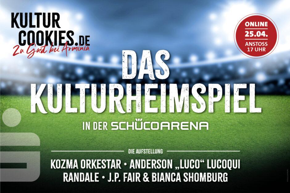 Am 25. April 2021: Kulturheimspiel in der Schüco-Arena
