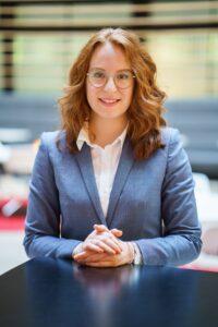 Karrierewege nach der Ausbildung bei der Sparkasse Bielefeld: Laura Paske
