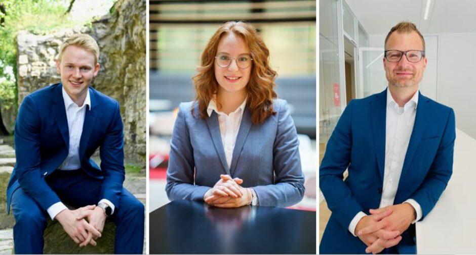 Drei Karrierewege nach der Ausbildung in unserer Sparkasse